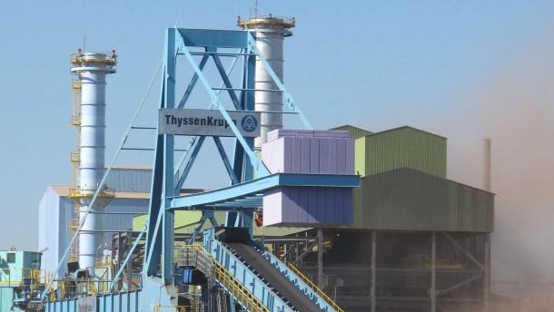 Verkauf von Thyssen-Krupps Brasilien-Werk vor Schwierigkeiten