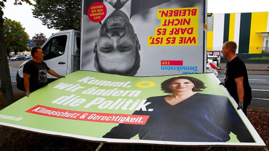 Beide wollen die Politik ändern, aber finden sie auch zueinander? Grüne und FDP vorsondieren die Aussicht auf eine Regierung mit ihrer Beteiligung.