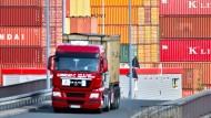 Rekordausfuhren erwarten Deutschlands Exporteure in diesem Jahr.