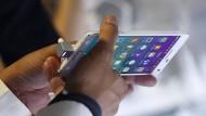 Das Samsung Galaxy Note 4: Schon wieder gibt es Akku-Probleme, diesmal in Amerika.