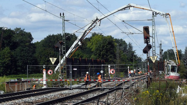 Nord-Süd-Trasse der Bahn wohl erst am 7. Oktober frei