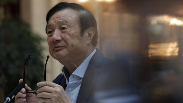 """Huawei-Gründer: Vermisse meine Tochter """"sehr stark"""""""