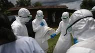 Wer findet das erste Mittel gegen Ebola?