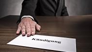 Macht eine schlechte Unterschrift die Kündigung ungültig?