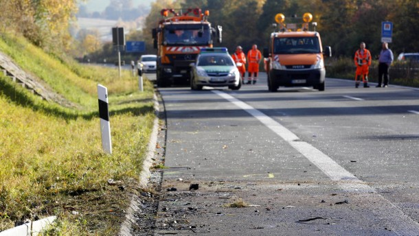 Fünf Tote durch Unfall mit Falschfahrer
