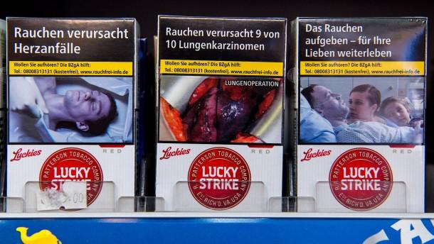 Tabaksteuer-Einnahmen halbieren sich