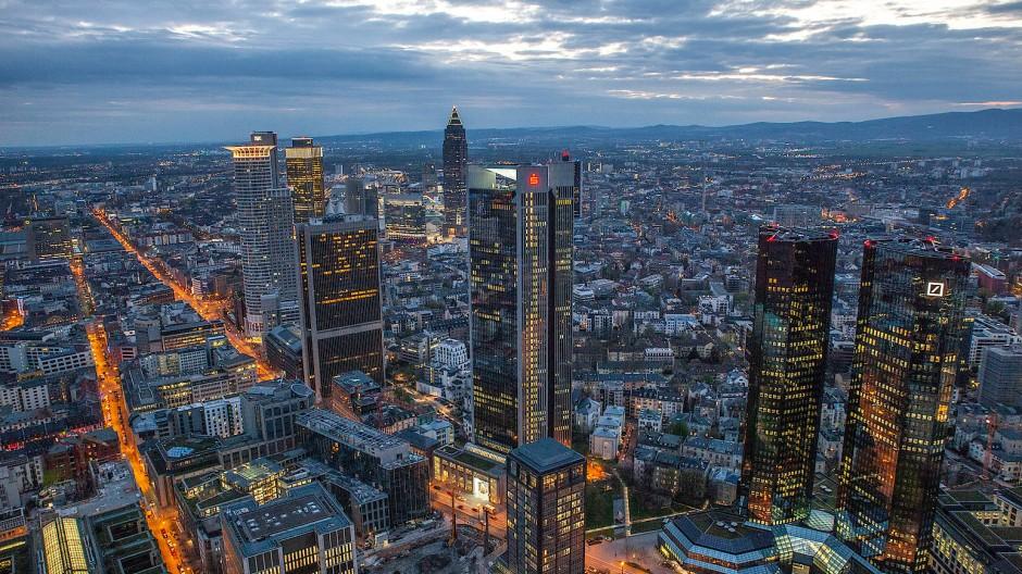 Bürotürme in Frankfurt