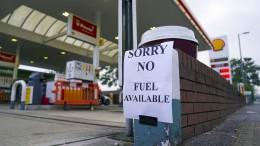 Tankstellenkrise in Großbritannien