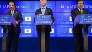 EU und Japan wollen Handelspakt schmieden