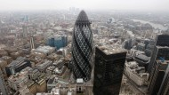 """""""The Gherkin"""": Das Londoner Bürohaus, das zu einem IVG-Fonds gehört, verbreitet derzeit mehr Glanz als die IVG."""