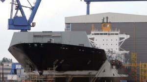 Wadan-Werften bekommen Millionen-Massekredit