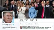 Ist er es wirklich? Twitter-Profil von Donald Trump