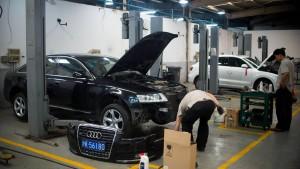 Chinas Kartellamt geht gegen Audi vor