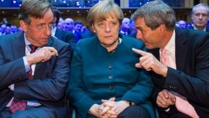 Merkel verspricht Arbeitgebern niedrigere Rentenbeiträge