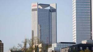Bundesbank macht sich in Frankfurter Büroturm breit