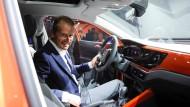 Herbert Diess hat gerade erst den neuen VW-Polo in Berlin der Welt vorgestellt.