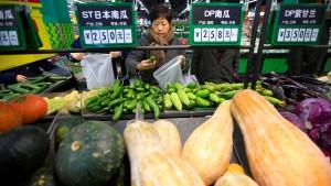 Chinas Wachstum fällt auf niedrigsten Stand seit 1990