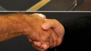 Das schwierige Ende des goldenen Handschlags