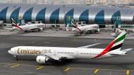 In einigen amerikanischen Städten landen bald weniger Emirates-Maschinen.