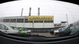 VW kauft Teile von Karmann