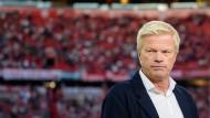 Bald ist Oliver Kahn wieder ein Angestellter des FC Bayern.