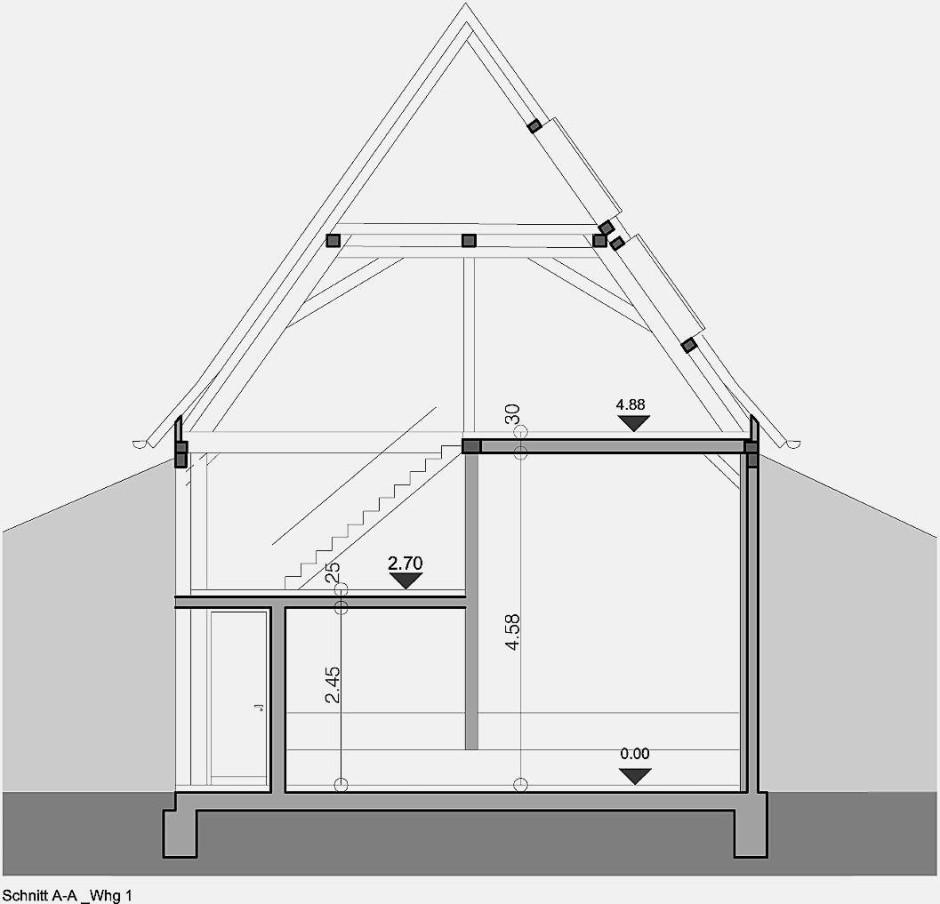 bilderstrecke zu von der scheune zum wohnhaus bild 9. Black Bedroom Furniture Sets. Home Design Ideas