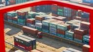 Chinas Importe fallen stark