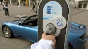 Union will Förderung für Elektroautos verdreifachen