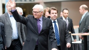 Bewegung auf dem Brüsseler Gipfel