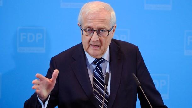 Schwarz-Gelb streitet über Pläne für Eurogruppe