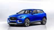 Premiere auf der IAA: die Jaguar SUV-Studie C-X17