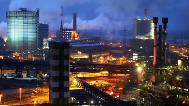 Thyssen-Krupp-Gewinn schrumpft weiter