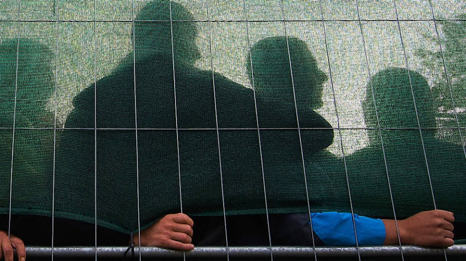 Flüchtlinge in einer Wohnunterkunft in Hamburg-Jenfeld