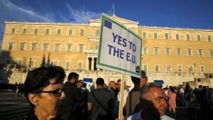 """""""Nach einem Grexit wird der Euro stabiler"""""""