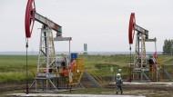 Ölpumpen in Russland förderten 2015 so viel Öl wie lange nicht.