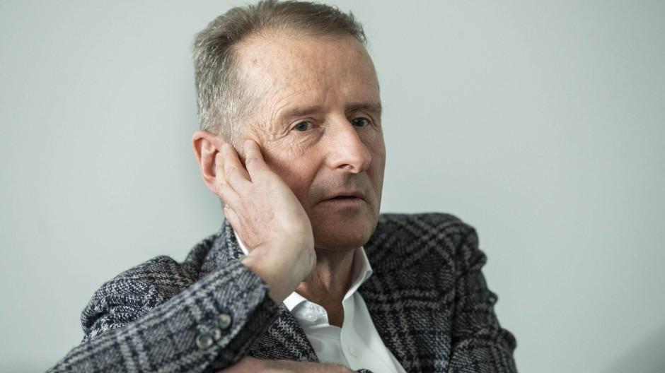 Hat konfliktreiche Zeiten bei Volkswagen hinter sich: Konzernchef Herbert Diess