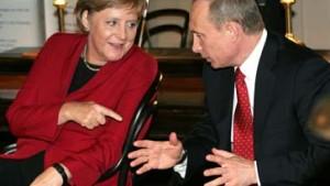 Putin mildert den Ton im Energiestreit