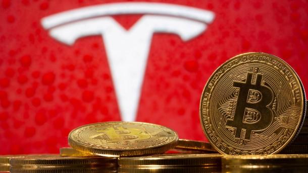 Elektroautopionier Musk macht Tesla-Kauf mit Bitcoin möglich