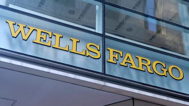 Wells Fargo durchbricht wohl Gewinnserie