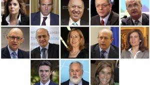 Rajoy schart enge Vertraute um sich
