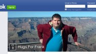 """Auf einer Facebookseite namens """"Hugs for Frank"""" sammeln sich Frank Swanson's Unterstützer."""