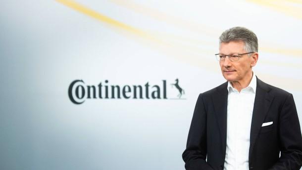 Continental mit Milliardenverlust