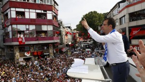 Jeder will das Füllhorn Istanbul regieren