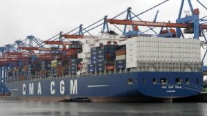 Preisverfall verhagelt den Reedern ihre Aussichten
