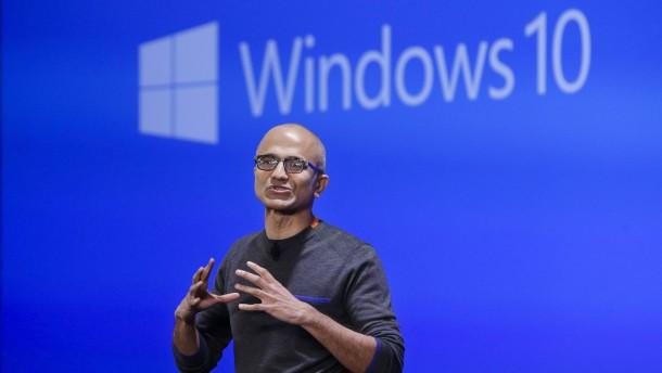 Warum Microsoft Windows 10 verschenkt