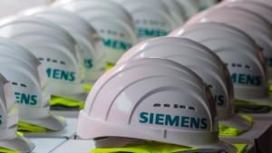 Siemens übertrifft die Erwartungen
