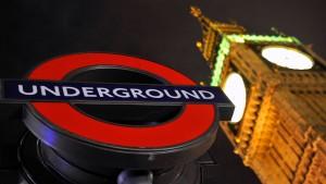 Londoner U-Bahn in 48-stündigem Streik