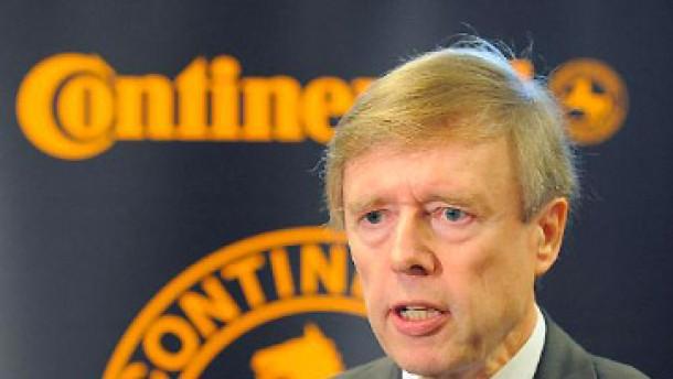 Schaeffler drängt Conti-Aufsichtsratschef aus dem Amt