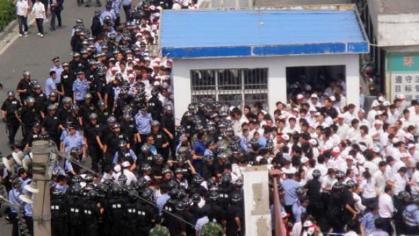 China ruft das Ende der großen Werkbank aus