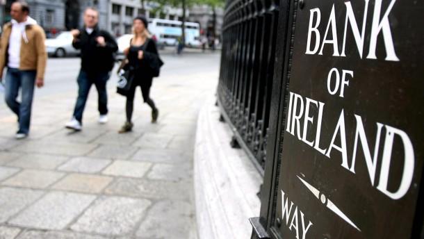 Irische Bank verdient wieder Geld